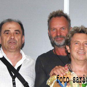 koncert britanske  grupe police na beogradskom uscu pred vise od 30.000  gledalaca  concert police band in belgrade opver 30.000 fans 24.06.2008  beograd foto slobodan saric